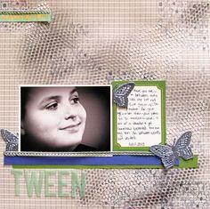 Tween by Christy Strickler, My Scrapbook Evolution