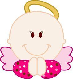 Imagenes de angeles bebes para bautizo: