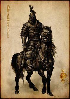 varvar.ru: Ганбат Бадамхан. Монгольский кавалерист