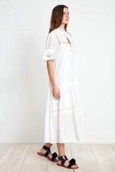 LOS ALTOS DRESS - WHITE   Apiece Apart