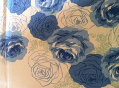 Detail of Blue Roses