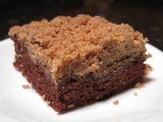 Chocolate CrumbCake - The Sensitive Pantry - Gluten-free, Egg-free, Dairy-free, & Vegan Recipes