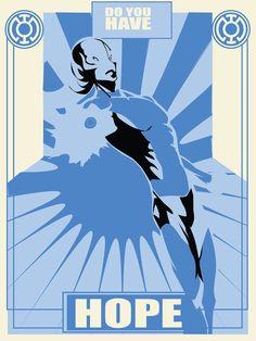 Lantern Propaganda: Blue by AT9 Design
