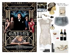 """""""The great Gatsby """" by seniora ❤ liked on Polyvore featuring moda, Gucci, Sweet Romance, Albeit, Charlotte Tilbury, Volnay, Chanel e MAC Cosmetics"""