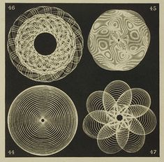 Sacred geometry in sound frequencies.