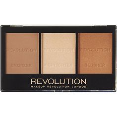Makeup Revolution Ultra Contour Kit Color:Light/MediumLight/Medium