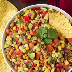 Rock your taste buds with this extremely versatile Black Eyed Pea Salsa.