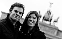 Michael C. Hall and Jennifer Carpenter... Once upon a time, a couple in reality and siblings in a t.v. show...