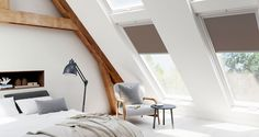How will the right VELUX blind make your loft conversion bedroom more comfortable?