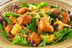 Crispy Southwestern Chicken Chunk Salad