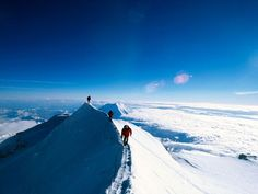 Climbing Mount McKinley, North America's highest peak, is a daunting task for even the most experienced mountaineers at Denali National Park in Alaska.