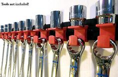 "Wall Mounted 3/8"" Drive Socket & Wrench Organizer - Red\ - Google Search"