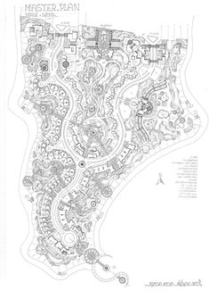 Landscape Architecture Drawing, Landscape Concept, Concept Architecture, Urban Design Concept, Urban Design Plan, Park Landscape, Landscape Design, Resort Plan, Plan Sketch