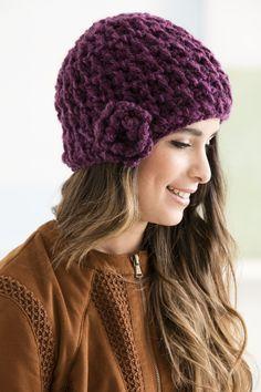 Plum Perfect Hat (Crochet)