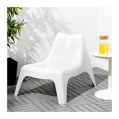 IKEA PS VÅGÖ Tuinstoel, buiten - wit, - - IKEA