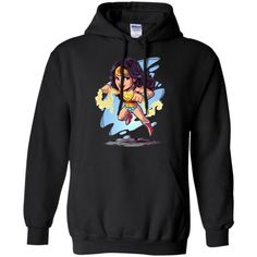 9c84bbed Wonder Woman Chibi Hoodie - Shop Freeship US Clothing, Accessories, Gifts  for Unicorn, Holidays, Birthday, Sport and Movies