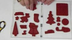 Convert Wood-Mounted Stamps to Clear-Mount, via YouTube.