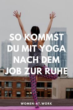 You are a working woman and have a lot of stress in your job? You know … - Yoga und Fitness - ENG Yoga Inspiration, Fitness Inspiration, Yoga Régénérateur, Ashtanga Yoga, Yoga For Beginners Flexibility, Workout For Beginners, Fitness Motivation, Fit Girl Motivation, Yoga Fitness