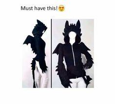 Toothless hoodie