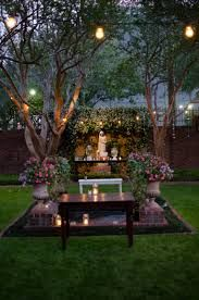 weddings at river oaks garden NEED A FEW STRING LIGHTS IN SMALLER