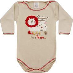 Body Recém Nascido e Bebê Menino Safári Bege - Patimini :: 764 Kids | Roupa bebê e infantil
