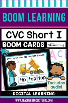 THIS IS AN INTERACTIVE DIGITAL RESOURCE. Download the preview to play a shortened version of the Boom Deck – this will help you decide if the resource is suitable for your students. ABOUT THIS BOOM DECK: Students will look at the picture, listen to the word, then tap on the word with the short I sound, from a choice of three words.