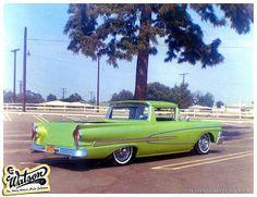 Ford Ranchero | Jim Warner's 1958 Ranchero - Painted by Larry Watson