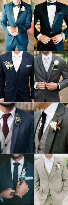 36 Groom Suit That Express Your Unique Styles and Personalities is part of Wedding suits men grey - For so long the grooms have been too traditional with their wedding attire, while in 2017 you might see some difference in the groom attire or groom suits Wedding Outfit Mens, Wedding Suits For Men, Men Wedding Fashion, Mens Wedding Tux, Groom Tuxedo Wedding, Menswear Wedding, Black Suit Wedding, Groom Wedding Dress, Wedding Tuxedos