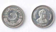 RUTH PFAU COMMEMORATIVE COIN UNC LOW MINT PAKISTAN NEW 50 RUPEE DR 2018 2017