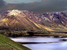 Tjaldfell við Frostastaðavatn