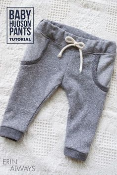 Baby Hudson Pants Tutorial - Love these!