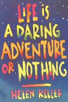 Other - Helen Keller Quote by 9teen87's Postcards, via Flickr