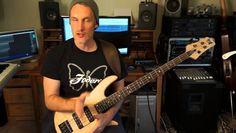 Bass Guitar Groove Techniques Tony Grey Lesson 2 (Minor Pentatonic)