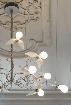Ingo Maurer * Shock of the Lighting * The Inner Interiorista Luxury Lighting, Home Lighting, Lighting Design, Bathroom Lighting, Lighting Ideas, Office Lighting, Kitchen Lighting, Modern Lighting, Blitz Design