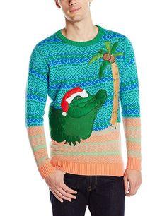Ugly Christmas Sweater, Alligator, Christmas Sweater, New, XXL, NWT, Xmas #BlizzardBay #Crewneck