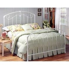 Hillsdale Furniture Maddie Metal Bed - love the rot iron
