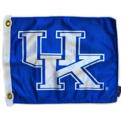 Flagpole To Go 14 inch x 15 inch Kentucky Wildcats Golf Cart Flag, Blue
