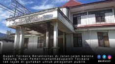 Parah! Kondisi kantor Bupati Tolikara banyak yang Rusak Outdoor Decor, Home Decor, Interior Design, Home Interiors, Decoration Home, Interior Decorating, Home Improvement