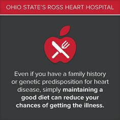 If you have a #family history of #heart #disease, eating a #healthy #diet is extremely important.