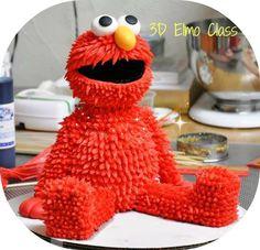 3D Elmo Cake Class  for more information call: 305-228-8883
