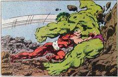 Hulk vs Doc Samson