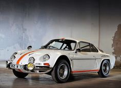 #Renault Alpine A110 probably the only successfully produced #Renault car !