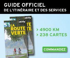 La Route Verte au Québec - La plus grande piste cyclable en Amérique du Nord.