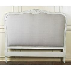 Louis French Upholstered Headboard - Crown French Furniture