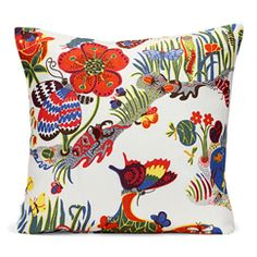Fabulous bright floral patterned cushions (from Sweden of course). Many more goodies where this one came from...