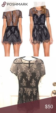 Brand new Lovers and Friends romper Brand new with tag Lovers and Friends romper.  Size medium Lovers + Friends Dresses