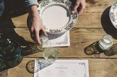 Conjunto de mesa Zinias • Zinnias table set