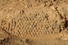 URUK - Ruines de mosaïques.