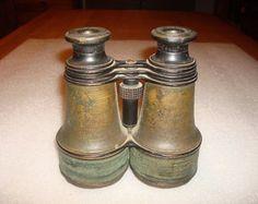 Antique Hunting Binoculars Field Glasses by LaBelleEpoqueDeco