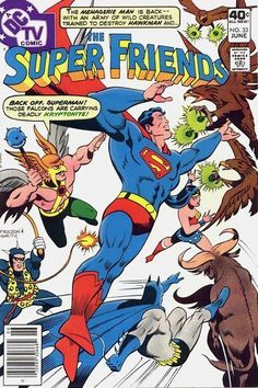 THE SUPER FRIENDS 33 DC COMICS